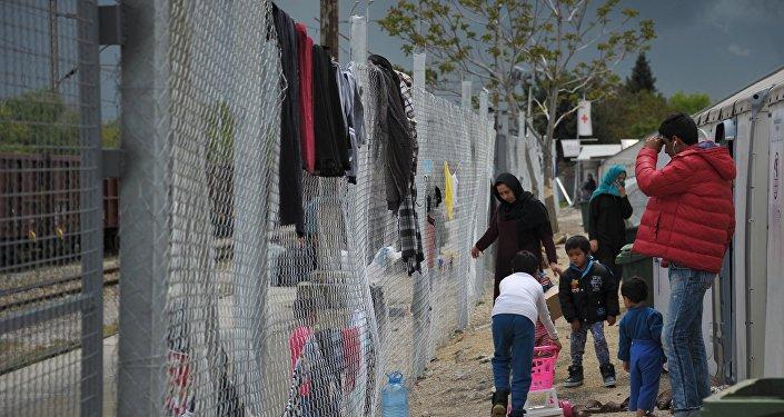 Bēgļu nometne Maķedonijā