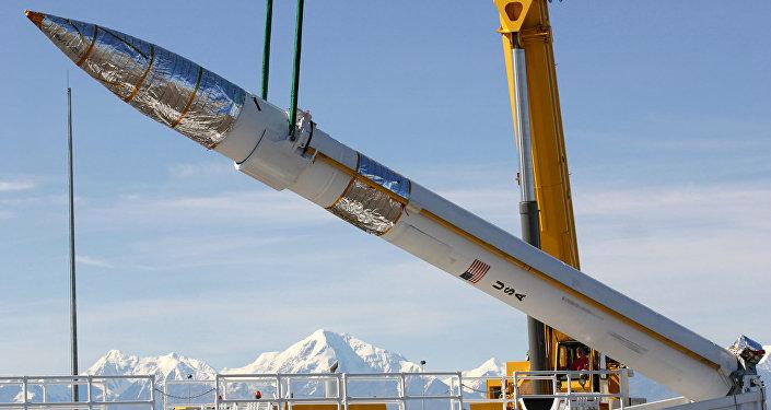 Наземная ракета-перехватчик на комплексе противоракетной обороны США. Архивное фото