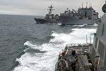 Военные корабли Североатлантического альянса. Архивное фото