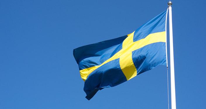 Флаг Швеции.