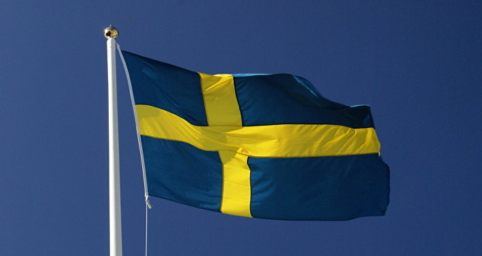 Zviedrijas karogs. Foto no arhīva