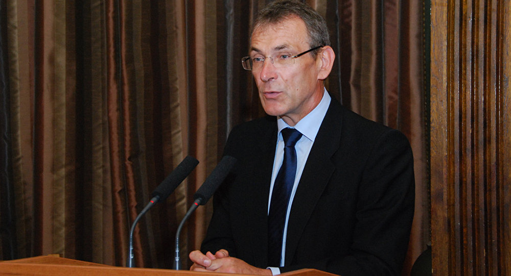 Председатель партии Единство Андрис Пиебалгс