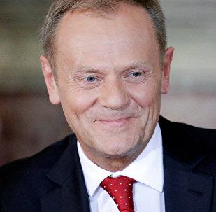Polijas bijušais premjerministrs, Eiropas Padomes vadītājs Donalds Tusks