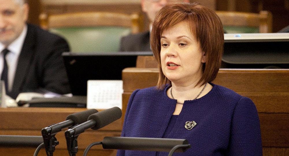 Государственный контролёр Латвии Элита Круминя. Архивное фото