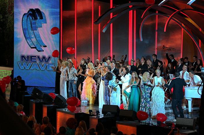 Международный конкурс Новая волна 2012 в Юрмале