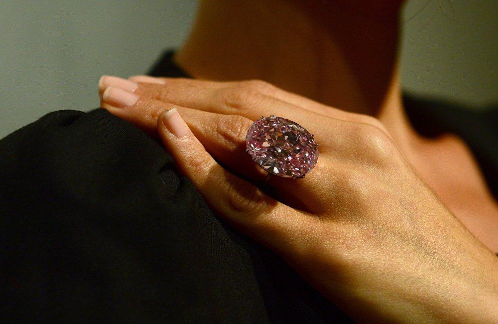 Алмаз Pink Star