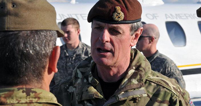 Ģenerālis Ričards Širefs. Foto no arhīva