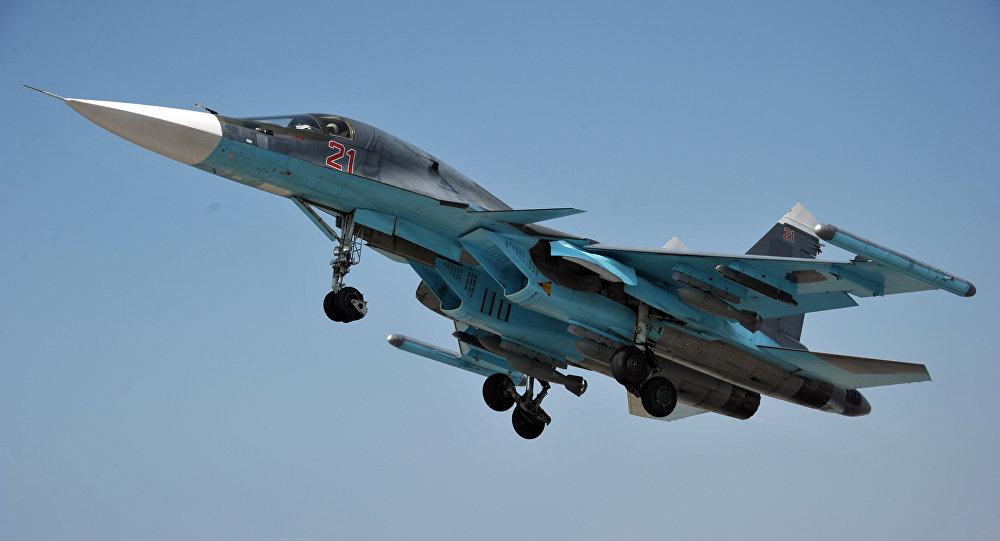 Krievijas kara aviācija Hmeimimas bāzē Sīrijā. Foto no arhīva
