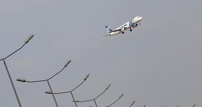 Aviokompānijas EgyptAir lidmašīna. Foto no arhīva.