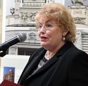Rīgas domes Izglītības, kultūras un sporta jautājumu komitejas vadītāja Eižēnija Aldermane