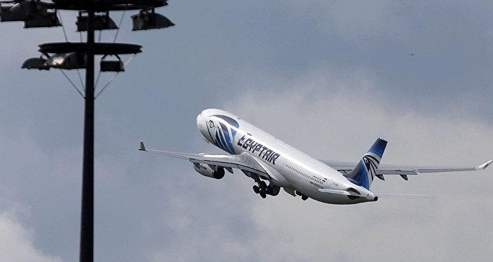 Аэробус 320 авиакомпании EgyptAir