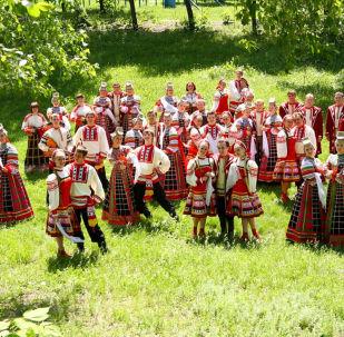 Valsts Akadēmiskais Voroņežas krievu tautas koris. Foto no arhīva