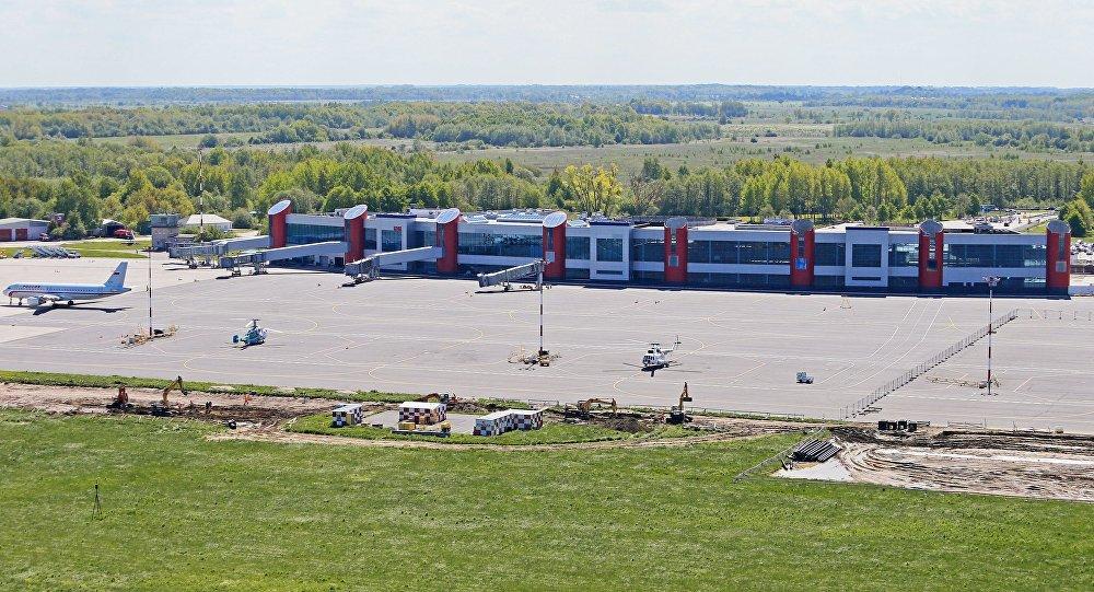 Kaļiņingradas lidosta Hrabrovo. Foto no arhīva