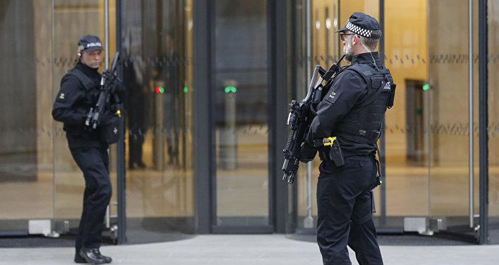 Londonas policija. Foto no arhīva