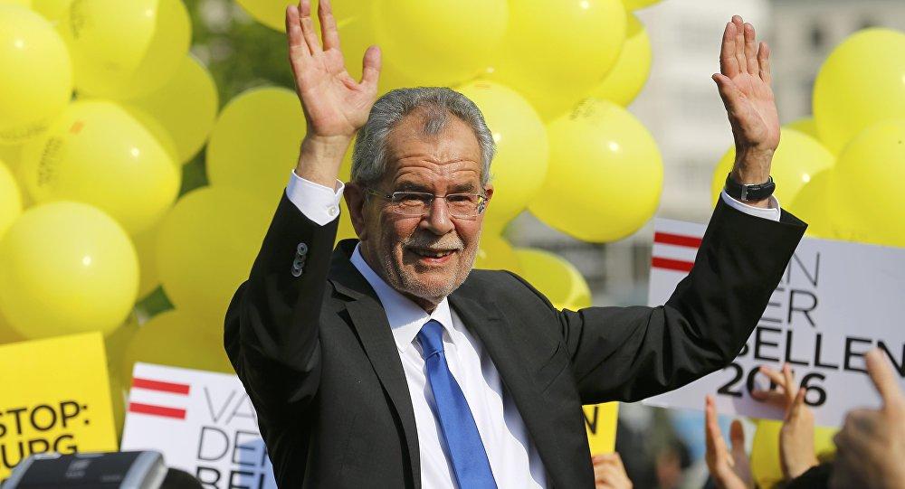 Austrijas prezidents Aleksandrs van des Bellens