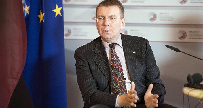 Ārlietu ministrs Edgars Rinkēvičs