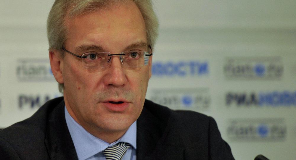 Krievijas pastāvīgais pārstāvis NATO Aleksandrs Gruško