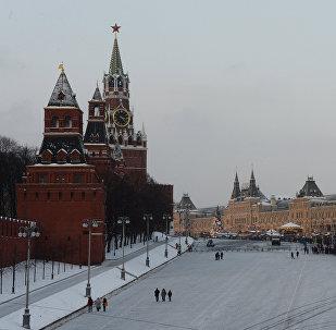 Maskavas centra panorāma. Foto no arhīva