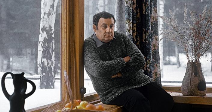 Кинорежиссер Эльдар Рязанов, архивное фото