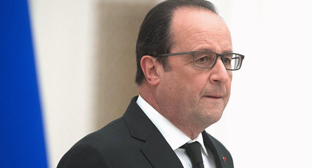 Francijas prezidents Fransuā Olands