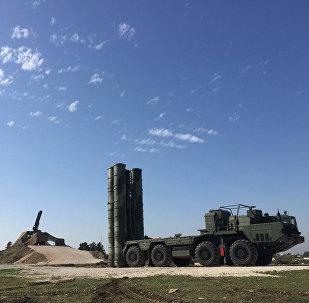 S-400 pretgaisa aizsardzības sistēma. Foto no arhīva