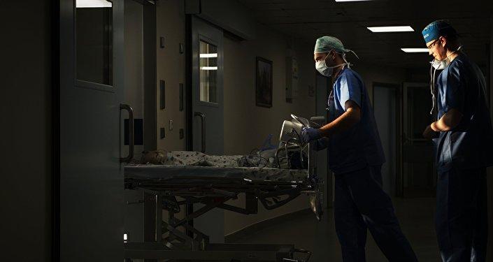 В больнице. Архивное фото