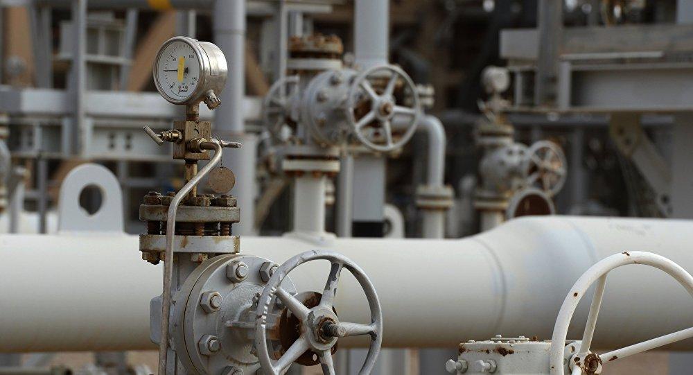 Элемент газотранспортной системы. Архивное фото
