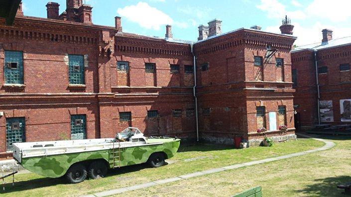 Здание военной тюрьмы в Каросте, Лиепая
