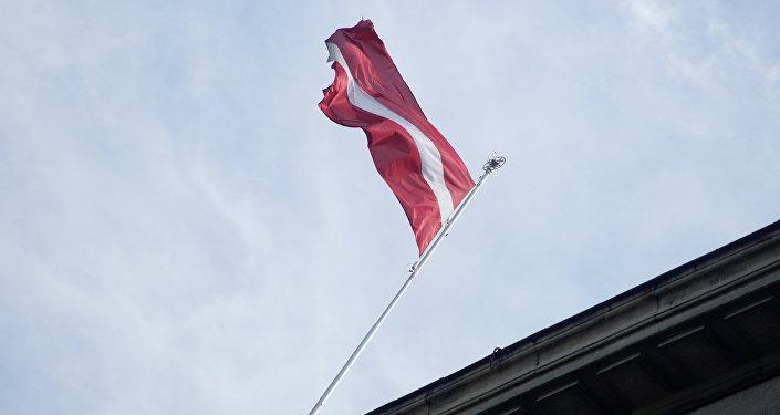 Latvijas karogs. Foto no arhīva