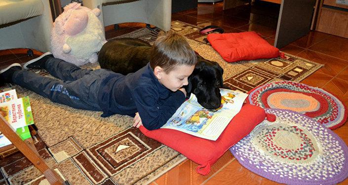 Проект КниГАВ - дети читают книги домашним питомцам