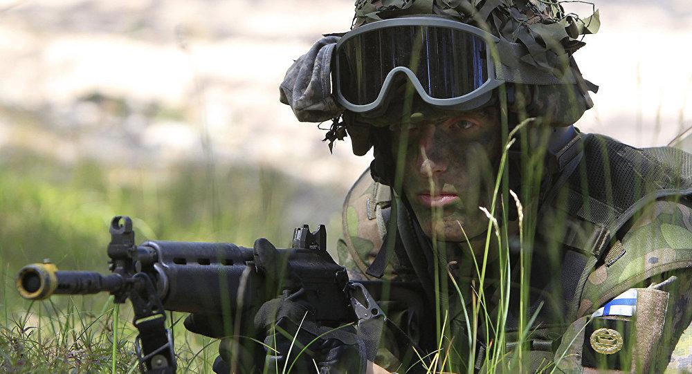 Somijas BS karavīrs