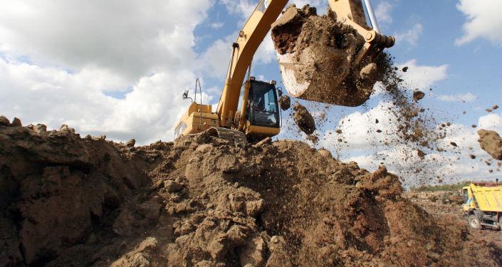 Būvbedres rakšana. Foto no arhīva