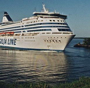 Kompanijas Tallink Silja prāmis