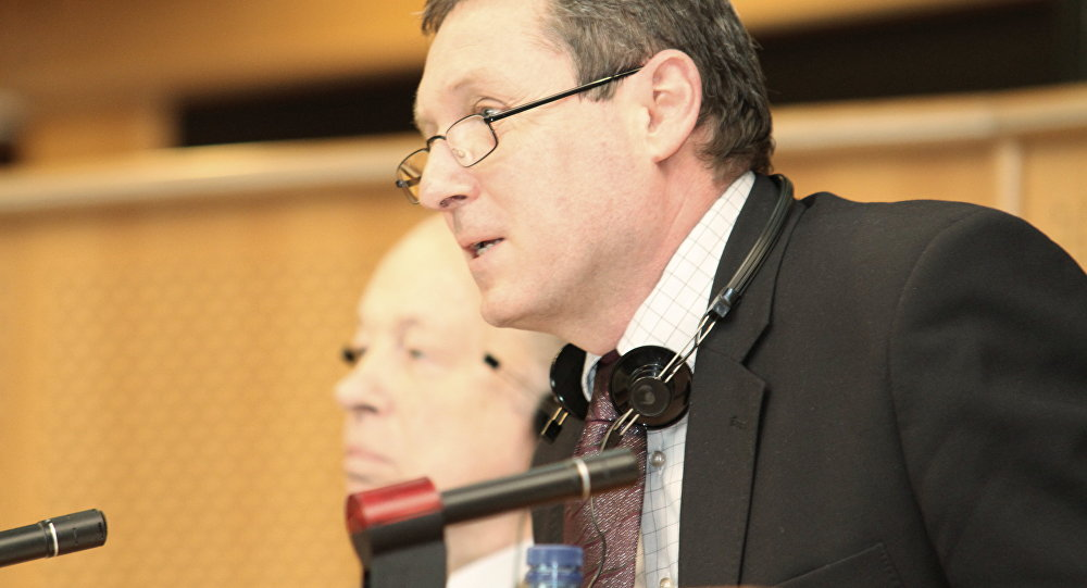 Eiropas Parlamenta deputāts no Čehijas Republikas Jirži Maštalka. Foto no arhīva