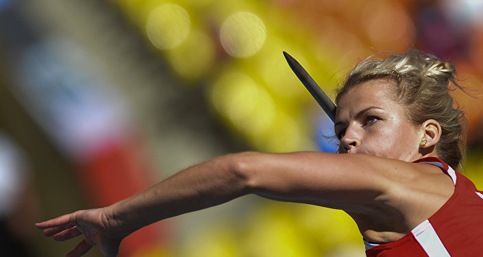 Латвийская спортсменка Мадара Паламейка. Архивное фото