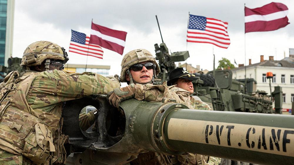 ASV 2. kavalērijas pulks pārdislocējas, lai piedalītos starptautiskajās militārajās mācībās Saber Strike 2016.