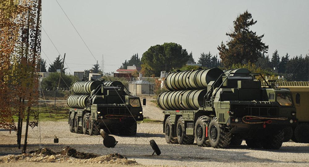 Россия развернула в Сирии ЗРК С-400. Архивное фото
