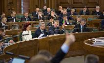 Saeimas sēde. Foto no arhīva