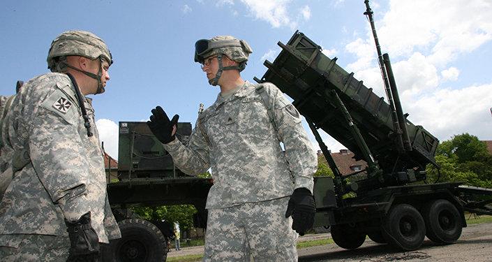 Amerikāņu raķetes Patriot. Foto no arhīva