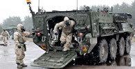 Военные учения НАТО Operation Summer Shield на полигоне Адажи в Латвии, архивное фото