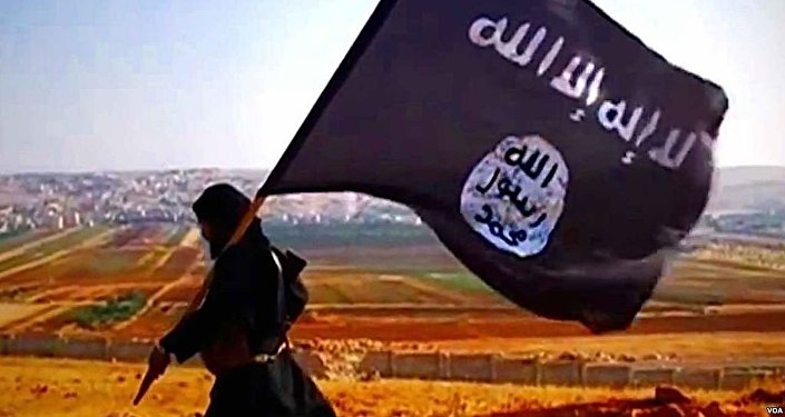 Флаг ИГИЛ. Архивное фото
