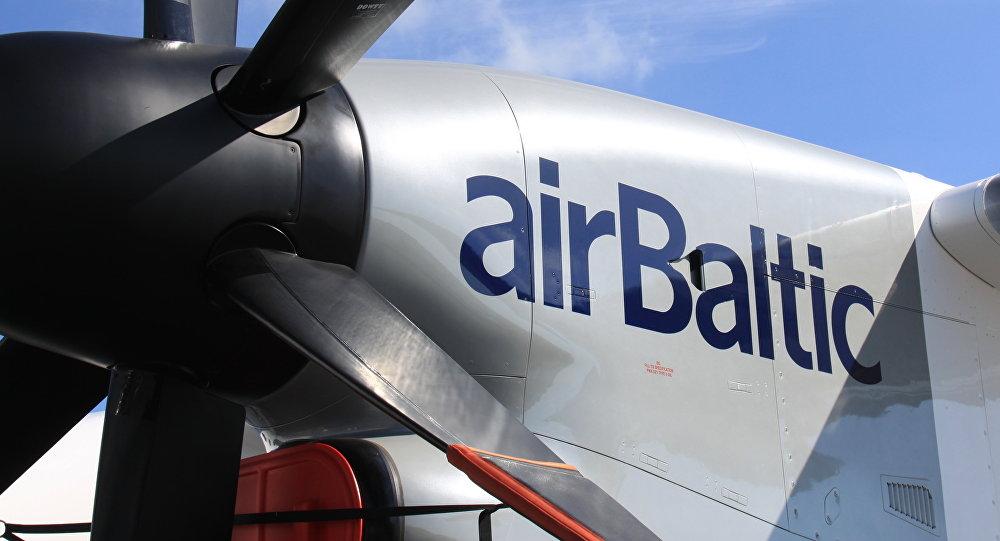 airBaltic. Foto no arhīva