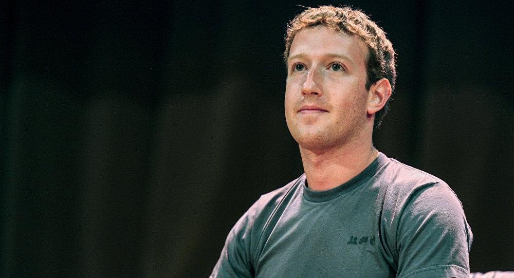 Марк Цукерберг. Архивное фото
