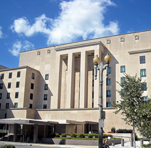Здание Государственного департамента США, архивное фото