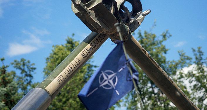 NATO karogs. Foto no arhīva