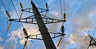 Elektropārvades līnija. Foto no arhīva
