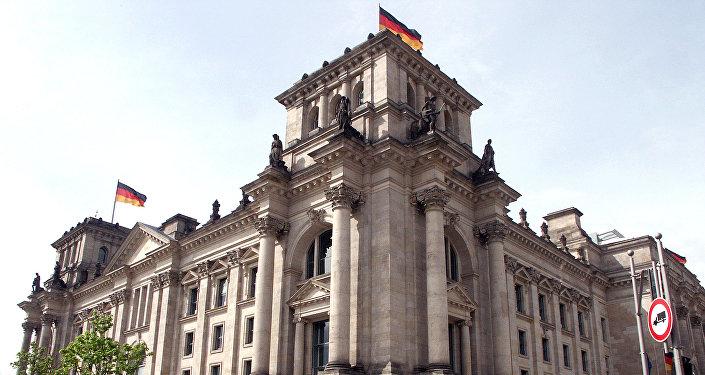 Bundestāga ēka. Foto no arhīva