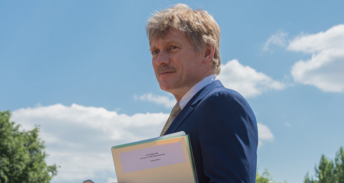 Krievijas prezidenta preses sekretārs Dmitrijs Peskovs. Foto no arhīva