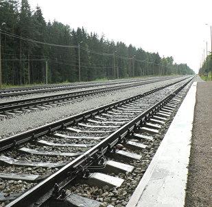 Эстонская железная дорога.