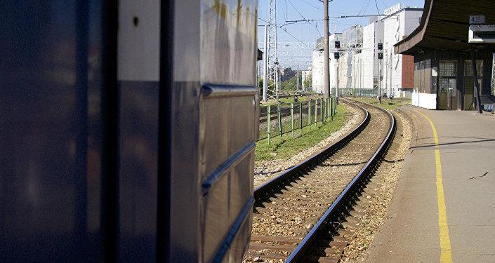 Железная дорога в Латвии. Архивное фото